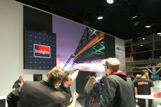 Innlights - BOE 2017 - kinetic LED-screen